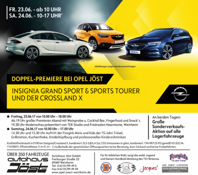 Opel-Premiere