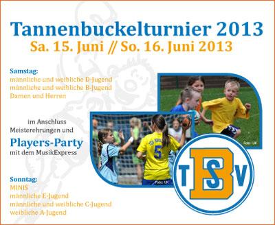 Tannenbuckelturnier 2013