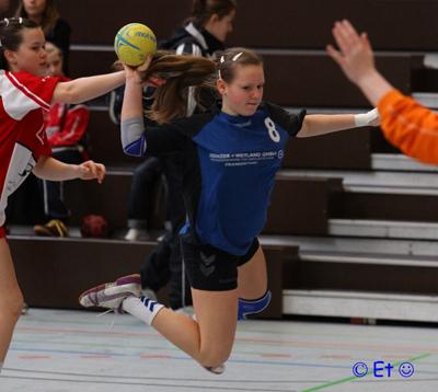Nicole Gölz in Aktion