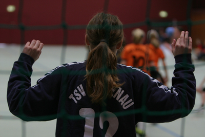 Vanessa Pahl im TSV-Tor
