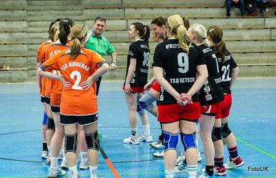 1b-Damen gewinnen gegen Ketsch